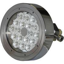 Éclairage sous-marin pour yacht / à LED / passe-coque / multicolore