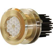 Éclairage sous-marin pour bateau / à LED / passe-coque / en bronze