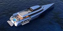 Motor-yacht trimaran à moteur / de croisière / hard-top / raised pilothouse