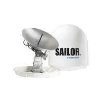 Antenne VSAT / Satcom / à large bande / bande Ka