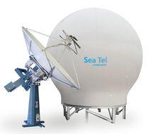 Antenne TV / satellite / dual band / pour bateau