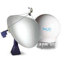 Antenne VSAT / Satcom / bande C / pour bateau