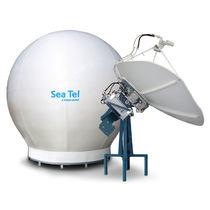 Antenne TV / satellite / bande X / pour bateau
