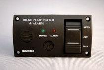 Tableau de commande et de contrôle pour bateau / de cale / avec alarme