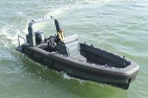 Bateau de surveillance hors-bord / en aluminium / RIB