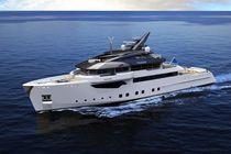 Motor-yacht de croisière / explorer / avec timonerie / coque à déplacement