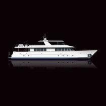 Motor-yacht de croisière / à fly / époxy / 4 cabines