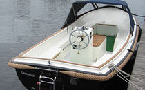 bateau traditionnel : coque open SLOEP Vivien Yachts