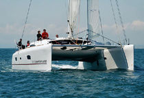 catamaran de course-croisi&egrave;re (voilier) TS 50' GA Xlight Catamaran