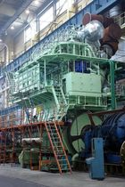 moteur diesel lent de propulsion pour navires ME/ME-C H. Cegielski-Poznan