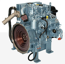moteur diesel rapide auxiliaire pour navires (injection indirecte, atmosph&eacute;rique) 415GM (13.8 KVA @ 1500 RPM -&gt; 16.5 KVA @ 1800 RPM) Perkins Sabre