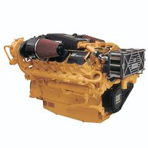 moteur de bateau : in-bord diesel 1000-2000 cv (injection directe, turbo) C32 (1550 -> 1652 HP @ 2300 RPM) Caterpillar Marine Power Systems