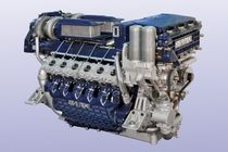 moteur de bateau : in-bord diesel 1000 - 2000 cv (injection directe, turbo séquentiel) 1300 / 1500 HP @ 2800 RPM SEATEK