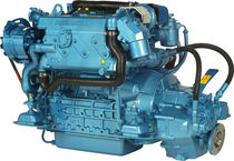 moteur de bateau : in-bord diesel 50 - 60 cv (injection indirecte, turbo) N4.60 (60 HP @ 2800 RPM) Nanni Industries