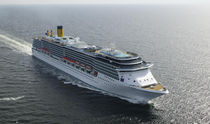 navire de croisi&egrave;re (chantier naval) COSTA MEDITERRANEA - 2680 PC STX Finland