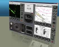 simulateur de navigation pour bateaux NetSim - Electronic Navigation Simulator Virtual Marine Technology Inc.