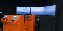 simulateur de navigation pour bateaux de sauvetage MissionQuest- Fast Rescue Boat Training Simulator Virtual Marine Technology Inc.