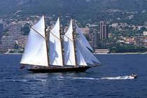 voilier traditionnel (type goélette, sailing-yacht) SHENANDOAH McMullen & Wing