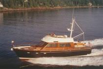 yacht de luxe : motor-yacht trawler &agrave; fly 61' Wilbur