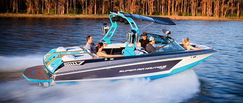 Runabout in-bord / bow-rider / de ski nautique / max. 15 personnes Super Air Nautique GS22 Nautique Boat Company