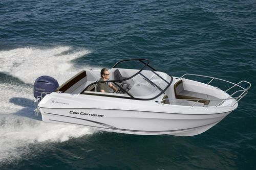 Runabout hors-bord / bow-rider CAP CAMARAT 5.5 BR Jeanneau - Motorboats