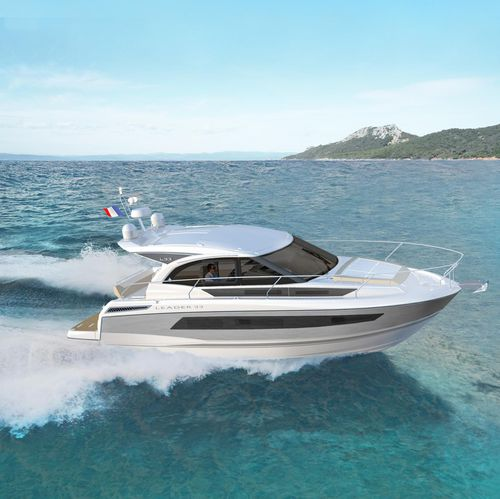 Vedette in-bord / hard-top / 2 cabines / bain de soleil LEADER 33 Jeanneau - Motorboats