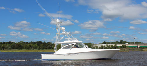 Vedette in-bord / à fly / open / de pêche sportive 48O Viking Yachts