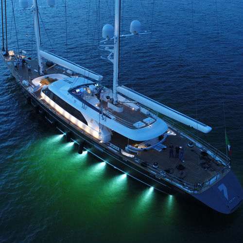 sailing-superyacht de croisière / avec timonerie / en aluminium / ketch