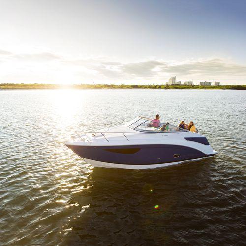 cabin-cruiser in-bord / open