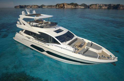 Motor-yacht de croisière / à fly / à déplacement / 4 cabines 76 Sunseeker