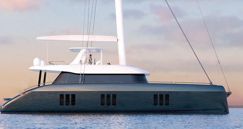 sailing-yacht de croisière / à fly