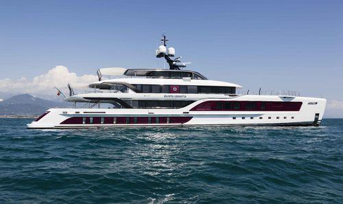 mega-yacht de croisière / explorer / à fly fermé / avec héliport