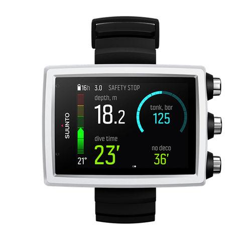 ordinateur de plongée montre bracelet / air / nitrox / avec compas