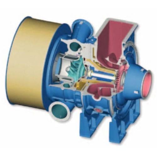 turbocompresseur turbine axiale - MAN Diesel SE