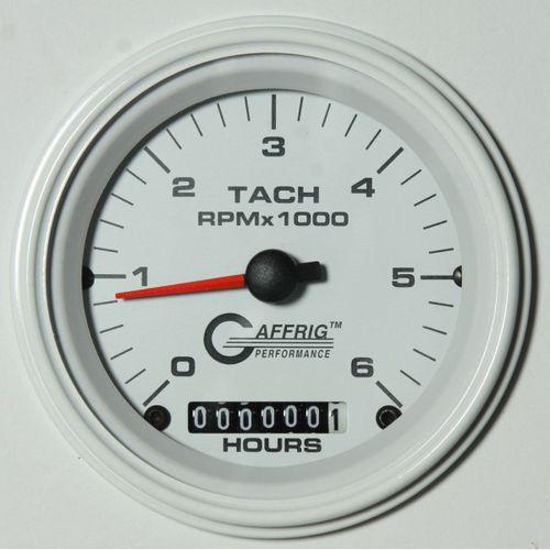 compte-tours analogique / pour bateau / avec compteur d'heures moteur