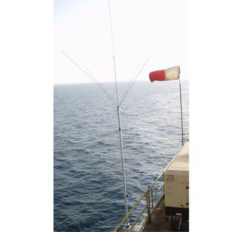 antenne radio / DGPS / pour navire / verticale