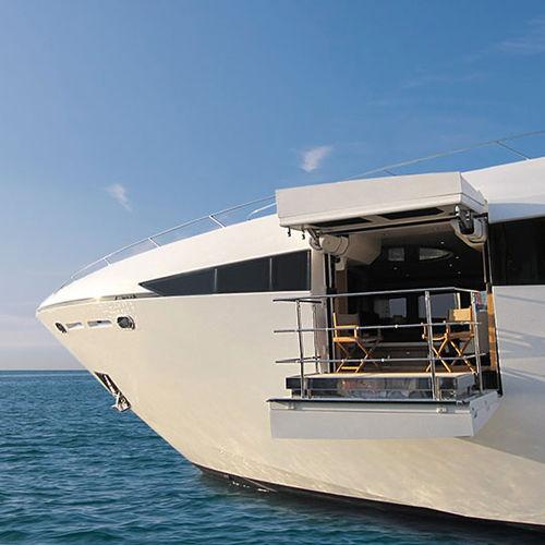 balcon pour yacht