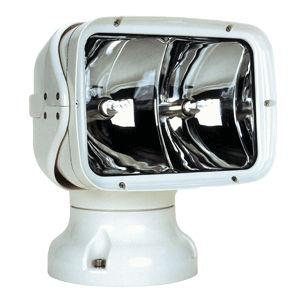 projecteur de recherche / pour bateau / halogène / télécommandé