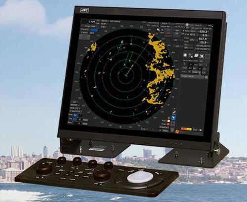 radar pour navire / ARPA / avec AIS / couleur
