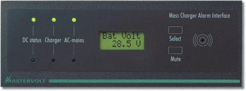 système de surveillance et alarme pour bateau / ampèremètre / pour chargeur de batterie
