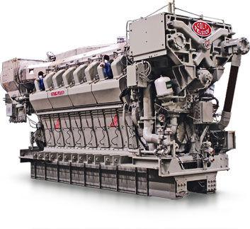 Moteur pour navire / semi-rapide / de propulsion / diesel COLT-PIELSTICK PA6B STC  Fairbanks Morse