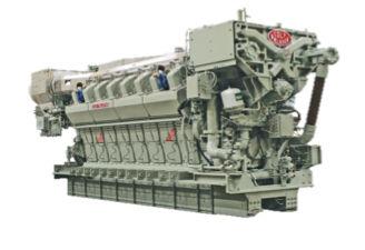 Moteur semi-rapide / pour navire / de propulsion / diesel Colt-Pielstick PA6B Fairbanks Morse