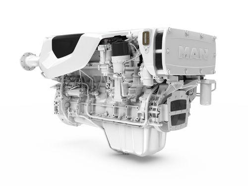 Moteur pour navire diesel / common-rail D2676 light duty MAN Engines
