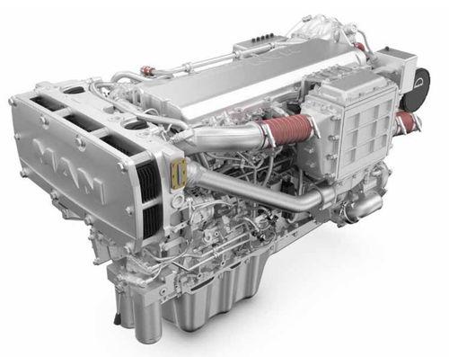 moteur pour navire diesel / turbo / common-rail