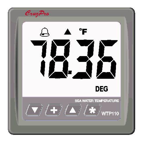 indicateur pour bateau / de température d'eau / numérique / NMEA 2000®