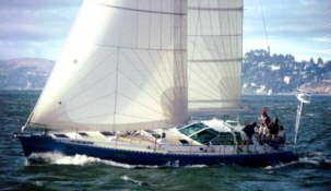 grand-voile / voile d'avant / pour voilier de croisière / coupe tri-radiale