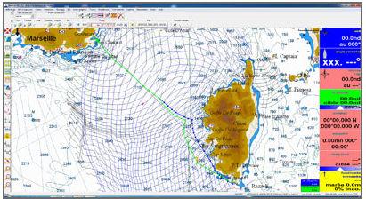 logiciel de navigation / de routage / pour voilier