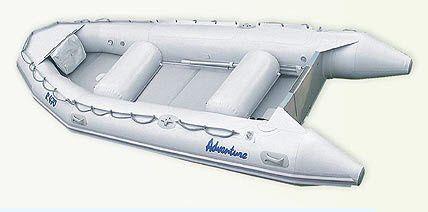 Bateau pneumatique hors-bord / semi-rigide / pour condition extrême / max. 8 personnes R-470 Adventure Inflatable boats