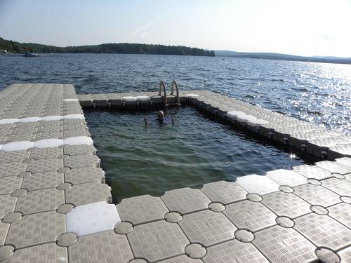 piscine flottante / modulable