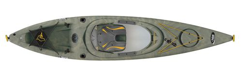 Kayak rigide / de pêche / d'initiation / 1 place INTREPID 120 X ANGLER Pelican International